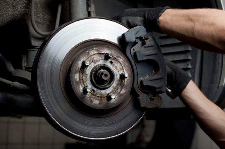 Смяна на дискове и накладки