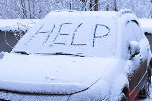 помощ през зимата